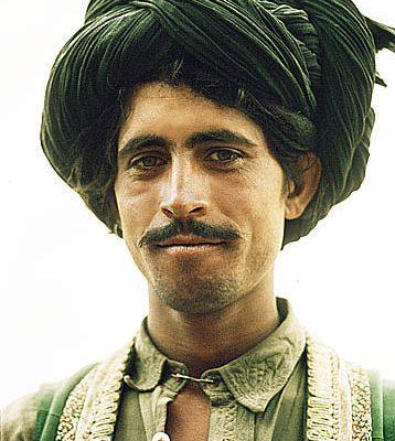 Afghanistan. Near Ghazni. Kuchi nomad.