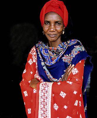 Cameroon. Foumban. Bamun (Bantu) woman.