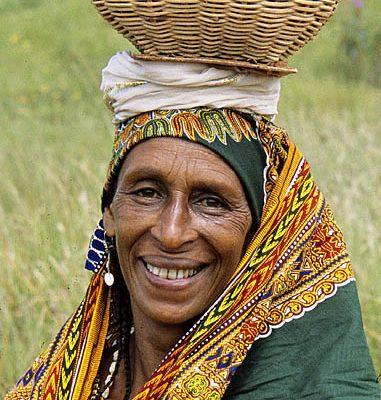 Cameroon. Bamenda Grasslands. Bororo (Fulani woman).
