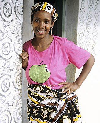Cameroon. Bamenda Grasslands. Bororo (Fulani) woman.