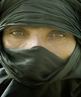 Niger Republic. Sahara Desert. Noble Kel Rela Tuareg, originally from southern Algeria.