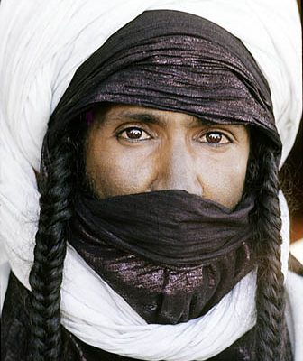 Niger Republic. Sahel. Noble Iullimiden Tuareg nomad.